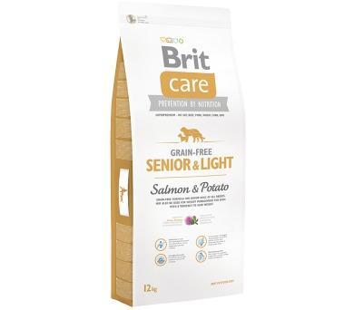 Brit Care Grain Free Dog Senior&Light S & P 12 kg