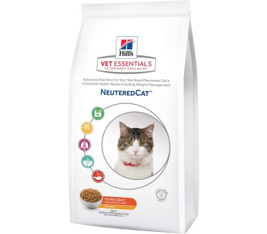 Hill's Feline VetEssentials Young Adult Neutered 3 kg
