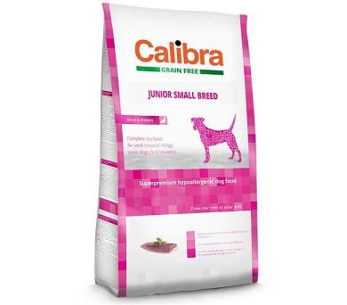 Calibra Dog GF Junior Small Breed Duck NOVÝ 7 kg