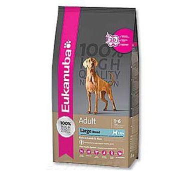 Eukanuba Adult Large Breed Lamb+Rice 2,5 kg