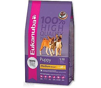 Eukanuba Puppy Medium Breed 3 kg