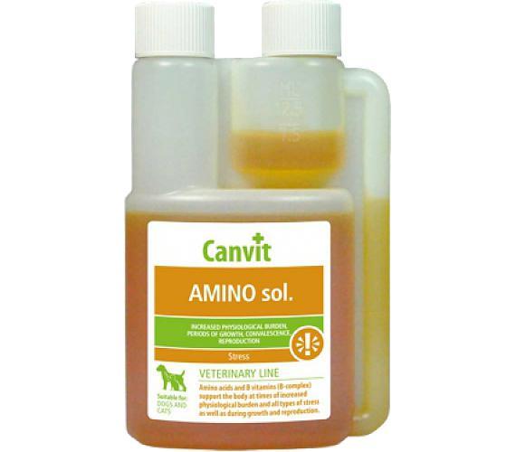 Canvit Amino pro psy a kočky NOVÝ sol 125 ml