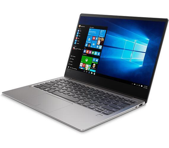 Lenovo IdeaPad 720S 13.3 FHD IPS AG/i7-7500U/8G/512G/INT/W10P/Backlit/720p/Šedá + DOPRAVA ZDARMA