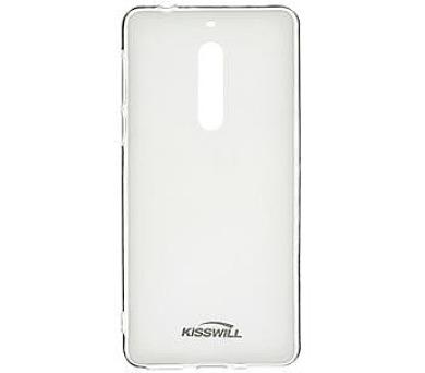 Kisswill TPU Pouzdro Transparent pro Nokia 5