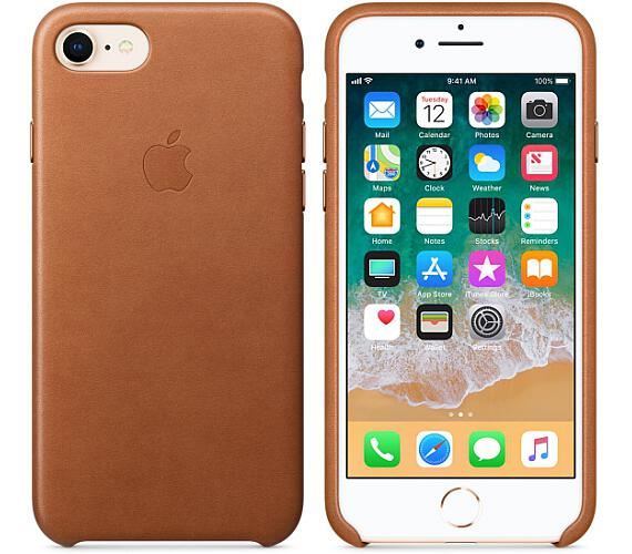 iPhone 8 / 7 Leather Case - Saddle Brown (MQH72ZM/A)