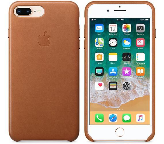 iPhone 8 Plus / 7 Plus Leather Case - Saddle Brown + DOPRAVA ZDARMA