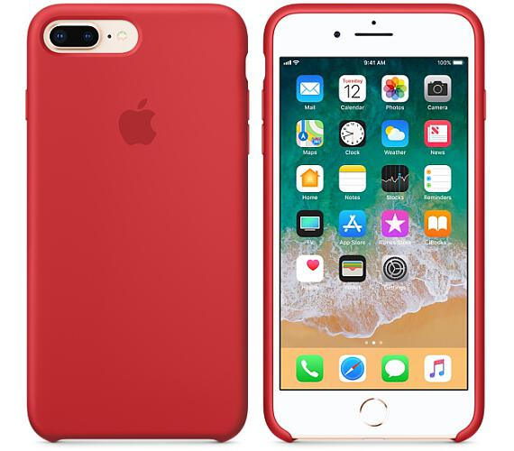 iPhone 8 Plus / 7 Plus Silicone Case - (RED) (MQH12ZM/A)