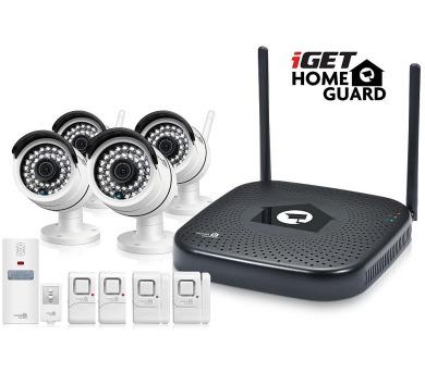 iGET HGNVK48904 - CCTV bezdrátový WiFi set HD 960p + DOPRAVA ZDARMA