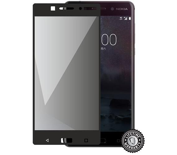 Screenshield™ NOKIA 6 (2017) Tempered Glass protection (full COVER black)