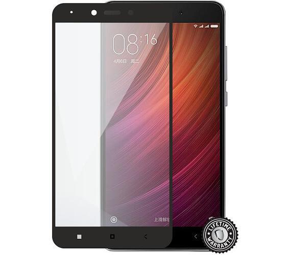 Screenshield™ XIAOMI Redmi Note 4 Tempered Glass protection (full COVER black) (XIA-TG25DBREDNO4-D)