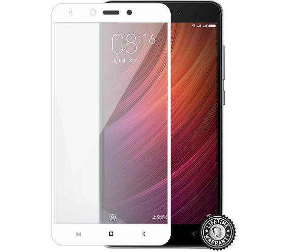 Screenshield™ XIAOMI Redmi Note 4 Tempered Glass protection (full COVER white) (XIA-TG25DWREDNO4-D)
