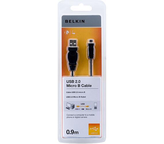 BELKIN USB 2.0 A - Micro B Cable 0.9m (F3U151cp0.9M-P)