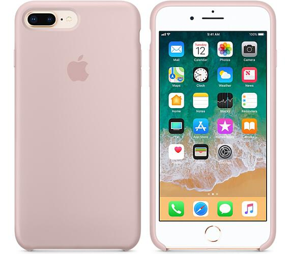 iPhone 8 Plus / 7 Plus Silicone Case - Pink Sand