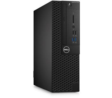 Dell PC Optiplex 3050 SF i5-6500/8G/256GB SSD/DP/HDMI/DVD RW/W7P(W10P)/3RNBD/Černý + DOPRAVA ZDARMA