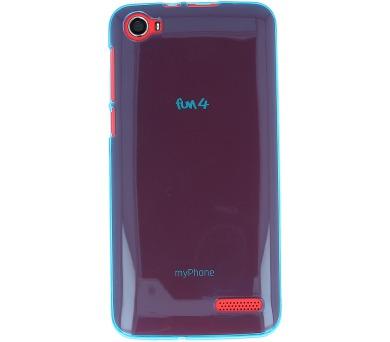 myPhone Fun 4 transparentní tyrkysové