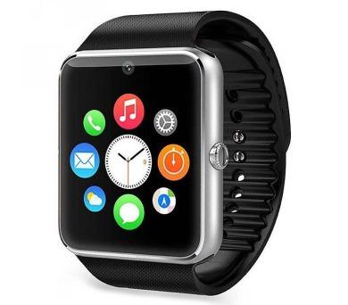 """IMMAX chytré hodinky SW6/ 1.54"""" LCD/ MTK6260A/ 128MB RAM/ 64MB interní paměť/ micro SIM/ BT/ česká lokalizace/ stříbrné"""