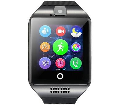 """IMMAX chytré hodinky SW7/ 1.56"""" LCD/ MTK6260/ 128MB RAM/ 64MB interní paměť/ micro SIM/ BT/ česká lokalizace/ černé (09008)"""