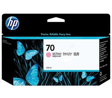 HP 70 světle purpurová inkoustová kazeta + DOPRAVA ZDARMA