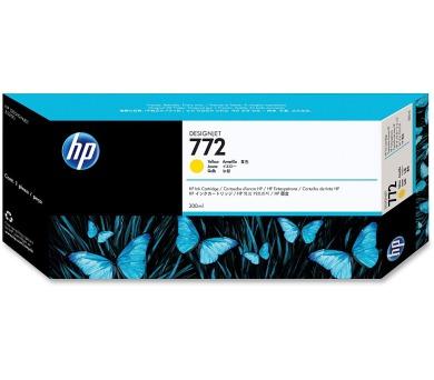HP 772 Žlutá inkoustová kazeta DesignJet