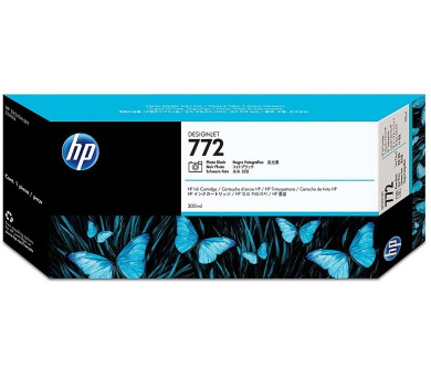 HP 772 Fotografická Černá inkoustová kazeta DesignJet