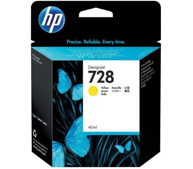 HP 728 40-ml žlutá DesignJet Ink Cartridge + DOPRAVA ZDARMA