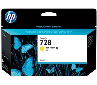 HP 728 130-ml žlutá DesignJet Ink Cartridge + DOPRAVA ZDARMA