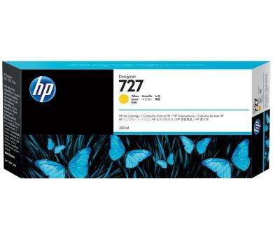 HP 727 Žlutá inkoustová kazeta DesignJet + DOPRAVA ZDARMA