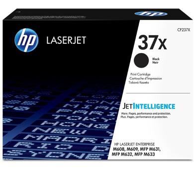 HP 37X Černá originální tonerová kazeta LaserJet s vysokou výtěžností + DOPRAVA ZDARMA