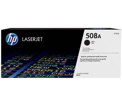 HP 508A Černá originální tonerová kazeta LaserJet (CF360A)