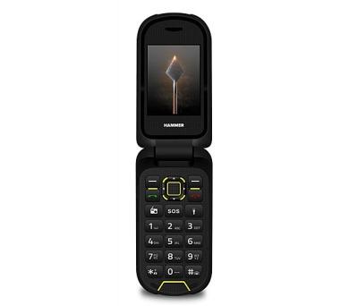 myPhone Hammer BOW Plus oranžovo-černý + DOPRAVA ZDARMA