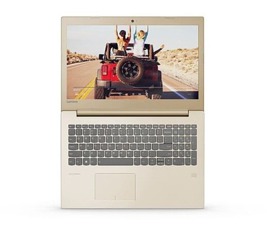 "Lenovo IdeaPad 520-15IKBR i7-8550U 4,0GHz/16GB/SSD 128GB+1TB HDD/15,6"" FHD/IPS/AG/GeForce 4GB/DVD-RW/WIN10 zlatá + DOPRAVA ZDARMA"