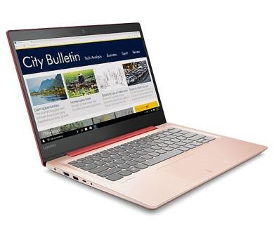 """Lenovo IdeaPad 320S-14IKB i3-7130U 2,70GHz/4GB/SSD 128GB/14"""" FHD/IPS/AG/WIN10 červená 80X400C8CK"""