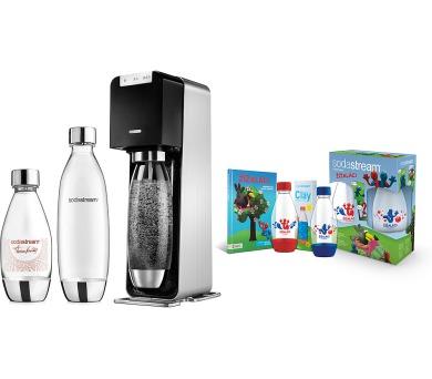 Sada PREMIUM Power výrobník SODA SodaStream + DOPRAVA ZDARMA