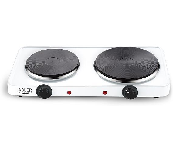 ADLER elektrický vařič dvouplotýnkový AD6504