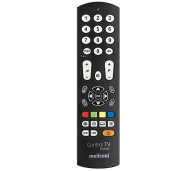 Meliconi 808032 Control TV Digital Univerzální dálkové ovládání pro TV