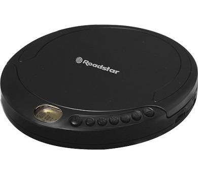 Roadstar PCD-498 MP/BK Discman - přenosný CD/MP3 přehrávač