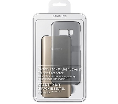 Samsung Clear Cover + Baterry Pack pro Galaxy S8 + DOPRAVA ZDARMA