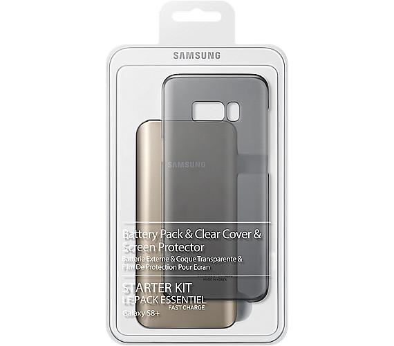 Samsung Clear Cover + Baterry Pack pro Galaxy S8+ + DOPRAVA ZDARMA