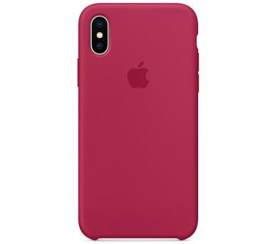 Apple Silicone Case pro iPhone X - vínový + DOPRAVA ZDARMA