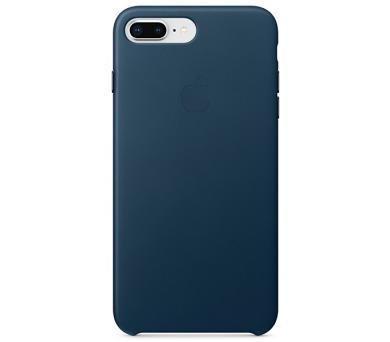 Apple Leather Case pro iPhone 8 Plus / 7 Plus - vesmírně modrý + DOPRAVA ZDARMA
