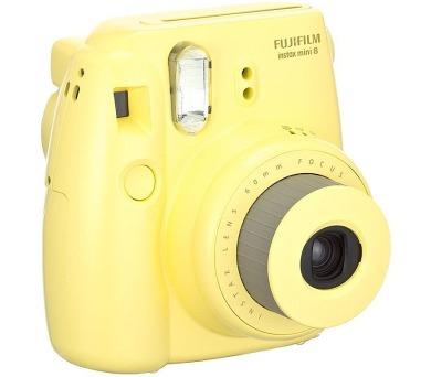 Kompaktní fotoaparát FujiFilm INSTAX MINI 8S - žlutý + DOPRAVA ZDARMA