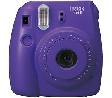 Kompaktní fotoaparát FujiFilm INSTAX MINI 8S - Grape + DOPRAVA ZDARMA