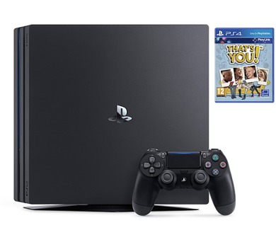 Sony PlayStation 4 PRO 1TB + That's You (PSN voucher) - černá