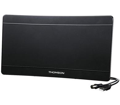 THOMSON aktivní DVB-T/T2 pokojová anténa ANT1706/ 43 dB/ LTE filtr/ 174-790 MHz/ USB/ černá