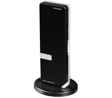THOMSON aktivní DVB-T/T2 pokojová anténa ANTUSB300/ 36 dB/ 30 - 950 MHz/ USB/ černá