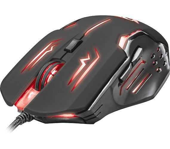 TRUST GXT 108 Rava Illuminated Gaming Mouse (22090)