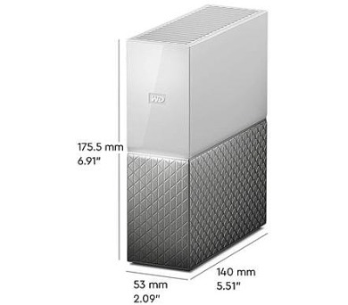 WD My Cloud Home 2TB LAN