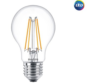 LED žárovka Philips E27 8W/75W 2700K 230V A60 CL P742594