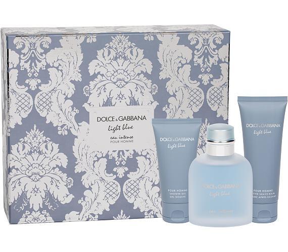 Dolce&Gabbana Light Blue Eau Intense Pour Homme + DOPRAVA ZDARMA