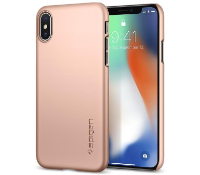 SPIGEN Thin Fit PRO APPLE IPHONE X - ROSE GOLD